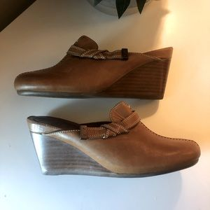 Cole Haan Wedge Mules